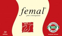 Femal otklanja simptome PMS-a i Menopauze